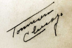 "Signature on ""Childhood Stories"""