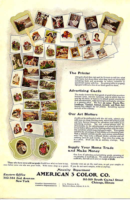 American 3 Color Co. Ad