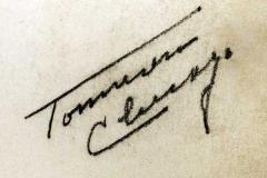 "Signature on ""Childhood Stories"""