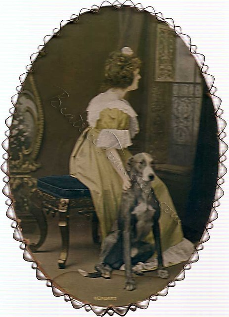 #7 Victorian Lady and Dog
