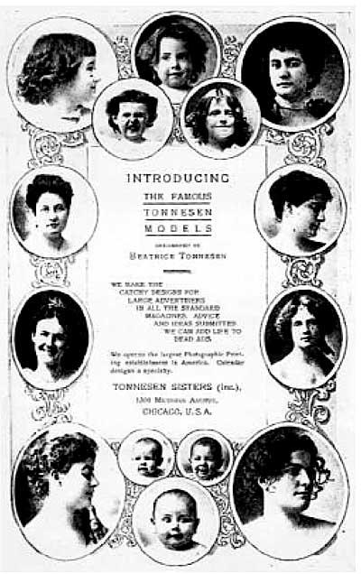 The Famous Tonnesen Models
