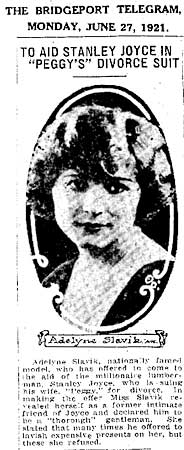 Adelyne Slavik Newspaper Photo